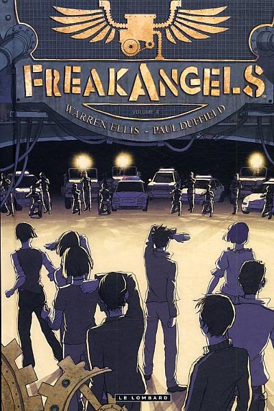 Freak Angels T4, comics chez Le Lombard de Ellis, Duffield