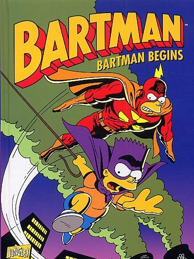 Bartman T1 : Bartman begins (0), comics chez Jungle de Strnad, Vance, Groening, Ortiz, Morrison, Vance