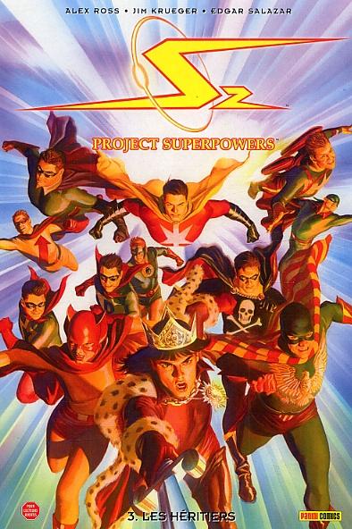 Project Superpowers T3 : Les héritiers (0), comics chez Panini Comics de Krueger, Salazar, Nunes, Ross