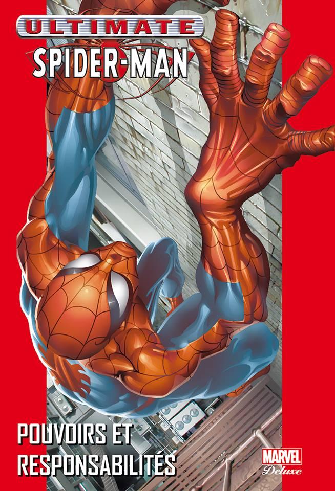 Ultimate Spider-Man T1 : Pouvoirs et responsabilités (0), comics chez Panini Comics de Bendis, Jemas, Bagley, Buccellato, Colorgraphix, Javins