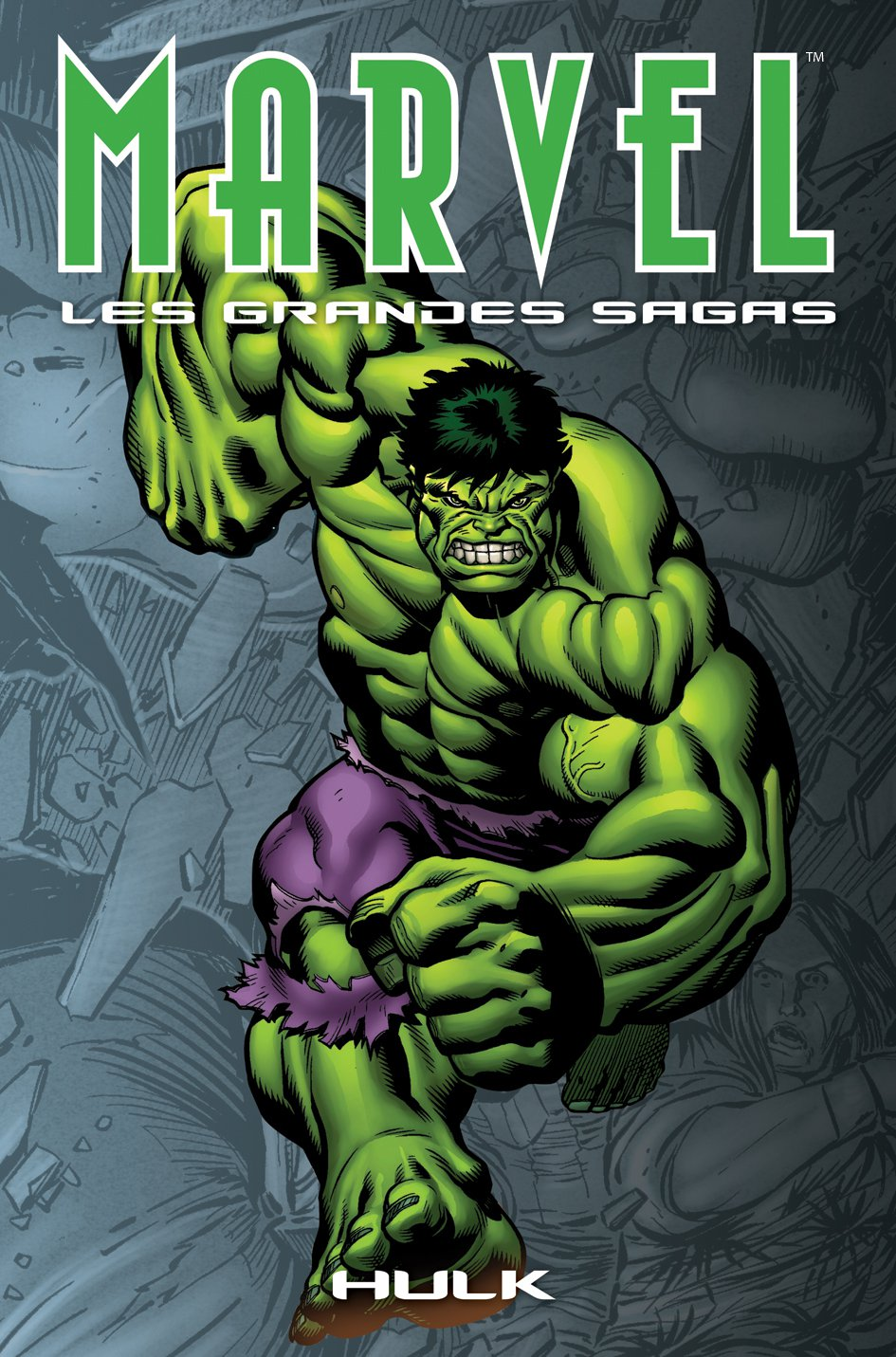 Marvel : Les grandes sagas T6 : Hulk - Marvels (6/10) (0), comics chez Panini Comics de Jones, Busiek, Ross, Romita Jr, Studio F, McGuinness