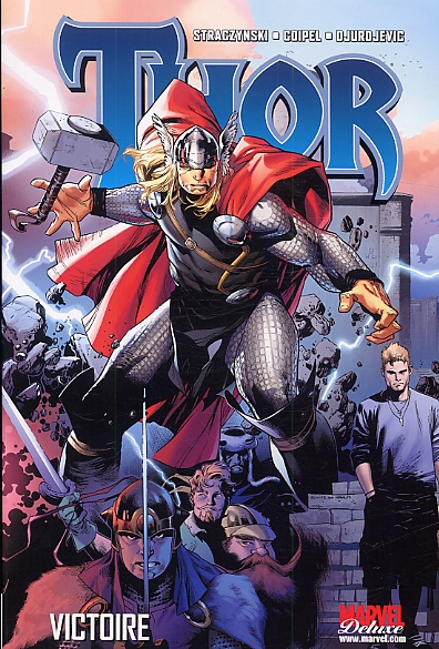 Thor – Marvel Deluxe, T2 : Victoire (0), comics chez Panini Comics de Straczynski, Milligan, Grindberg, Djurdjevic, Coipel, Suayan, Mounts, Delgado, Strain, Djurdjevic, Roberts, Martin