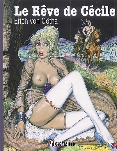 Rêve de Cécile, bd chez Dynamite de von Götha