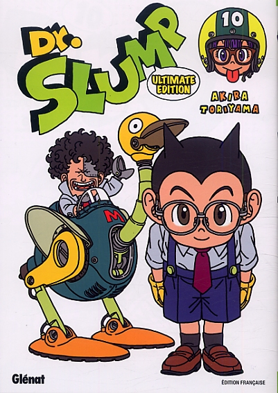 Dr Slump – Ultimate edition, T10, manga chez Glénat de Toriyama