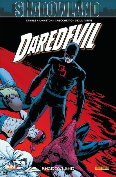 Daredevil - L'homme sans peur – 100% Marvel, T22 : Shadowland (0), comics chez Panini Comics de Diggle, Johnston, Checchetto, De La Torre, Hollingsworth, Hollowell, Cassaday