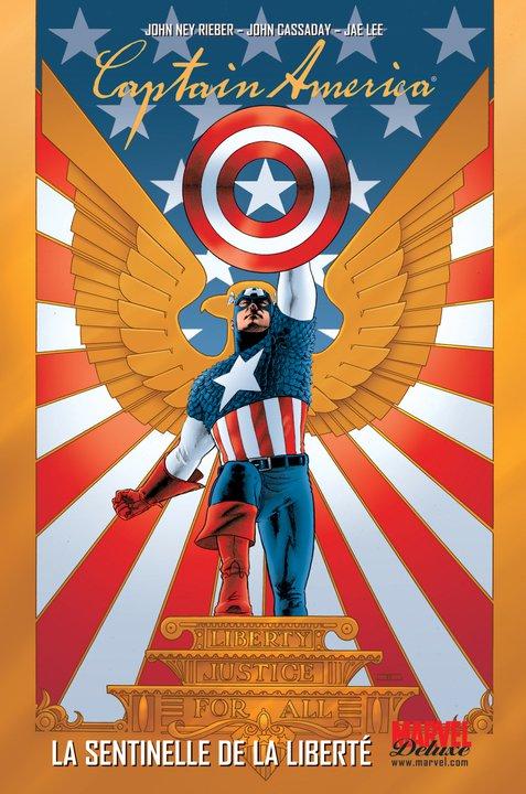 Captain America T1 : La sentinelle de la liberté (0), comics chez Panini Comics de Austen, Reiber, Martin, Dini, Lee, Hairsine, Ross, Cassaday, Villarubia, Vicente, Stewart