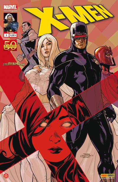 X-Men (revue) – V 2, T5 : Cinq lumières (0), comics chez Panini Comics de Fraction, Portacio, Tolibao, Kirk, d' Armata, Reber, Dodson