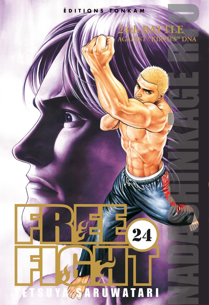 Free Fight - New tough T24, manga chez Tonkam de Saruwatari