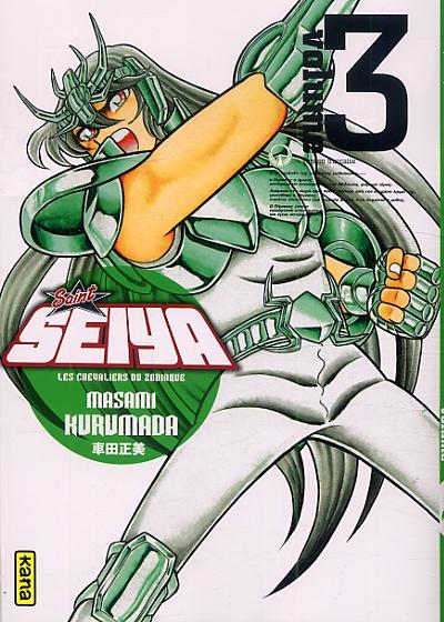 Saint Seiya Deluxe T3, manga chez Kana de Kurumada
