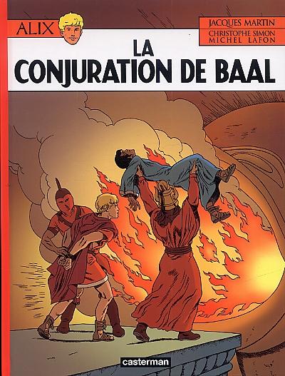 Alix T30 : La conjuration de Baal (0), bd chez Casterman de Lafon, Simon, Wesel, de la Serna