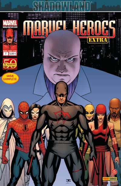Marvel Heroes Extra T7 : Shadowland (0), comics chez Panini Comics de Diggle, Tan, Hannin, Strain, Dalhouse, Guru efx, Cassaday