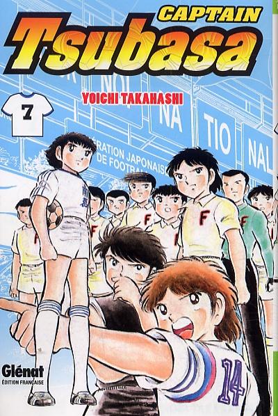 Captain Tsubasa T7, manga chez Glénat de Takahashi