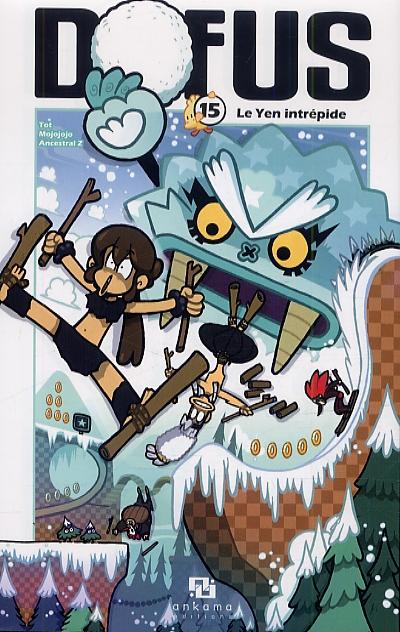 Dofus T15 : Le Yen intrépide (0), manga chez Ankama de Tot, Mojojojo, Ancestral z