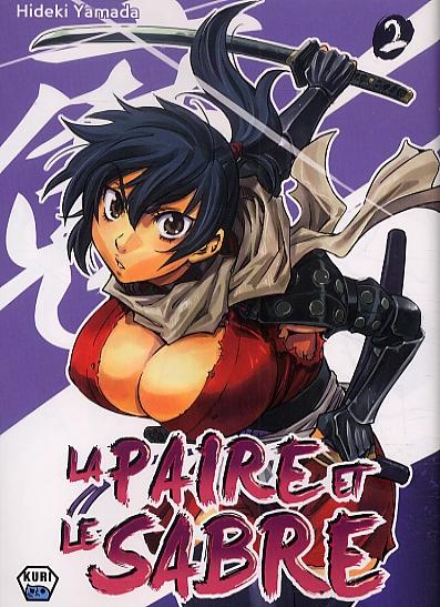 La Paire et le sabre T2, manga chez Ankama de Konchiki