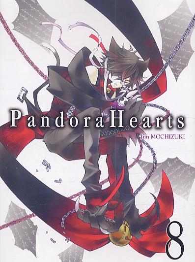 Pandora Hearts T8, manga chez Ki-oon de Mochizuki