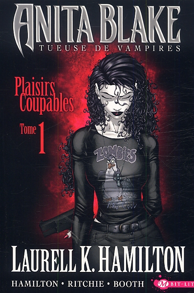 Anita Blake - Tueuse de vampires T1 : Plaisirs coupables (0), comics chez Milady Graphics de Hamilton, Ritchie, Booth, Imaginary friends studio
