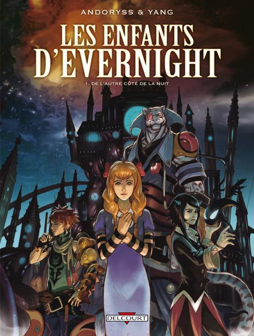 Les Enfants d'Evernight T1 : De l'autre côté de la nuit (0), bd chez Delcourt de Andoryss, Yang, Chen