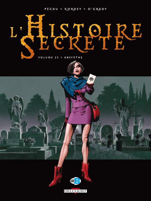 L'histoire secrète T23 : Absinthe (0), bd chez Delcourt de Pécau, Kordey, O'Grady