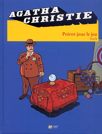Agatha Christie T21 : Poirot joue le jeu (0), bd chez Emmanuel Proust Editions de Marek, Bouchard