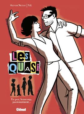 Les Quasi T1 : Un peu, beaucoup, passionnément (0), bd chez Glénat de Val, Neuray, Ruby