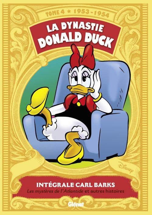 La Dynastie Donald Duck T4 : Les mystères de l'Atlantide et autres histoires (0), comics chez Glénat de Barks