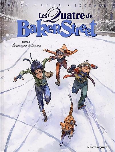 Les quatre de Baker street T3 : Le Rossignol de Stepney (0), bd chez Vents d'Ouest de Legrand, Djian, Etien