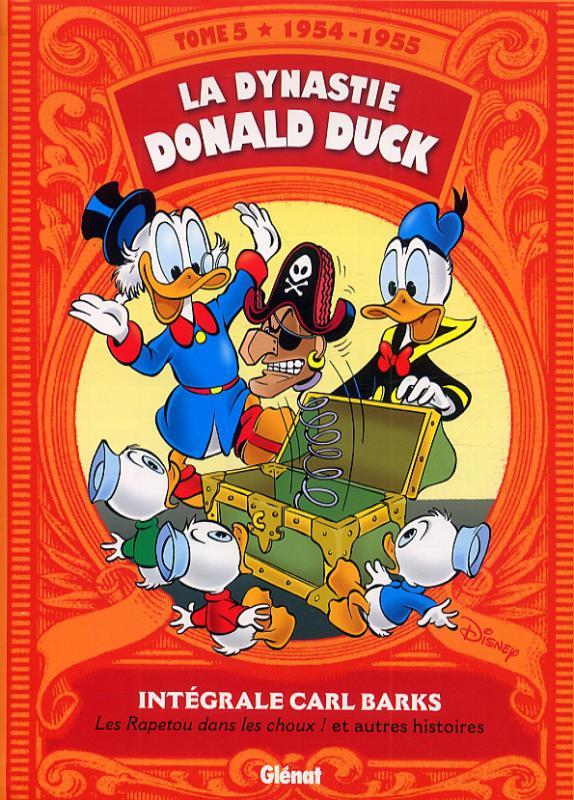 La Dynastie Donald Duck T5 : Les Rapetou dans les choux ! (0), comics chez Glénat de Barks