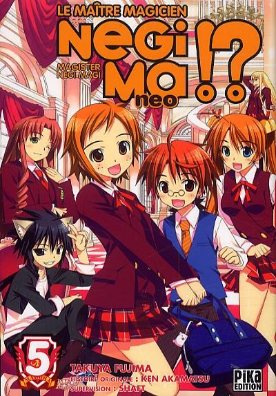 Negima !? neo T5, manga chez Pika de Fujima, Akamatsu