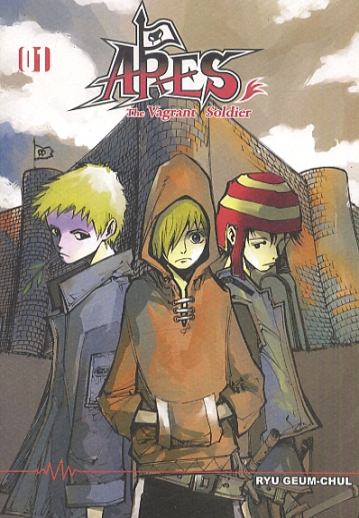 Ares T1, manga chez Booken Manga de Ryu