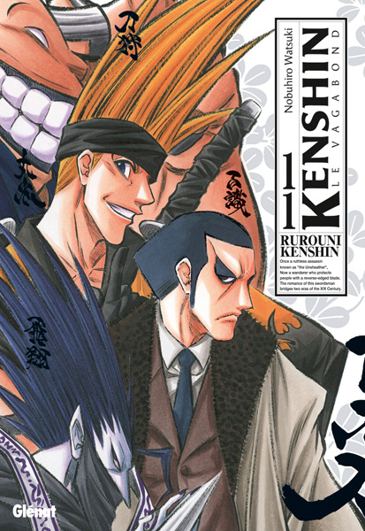Kenshin le vagabond - ultimate edition T11, manga chez Glénat de Watsuki