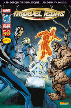 Marvel Icons - Hors série T22 : Trois (Fantastic Four - Three) (0), comics chez Panini Comics de Hickman, Epting, Dragotta, Mounts, Perkins, Davis