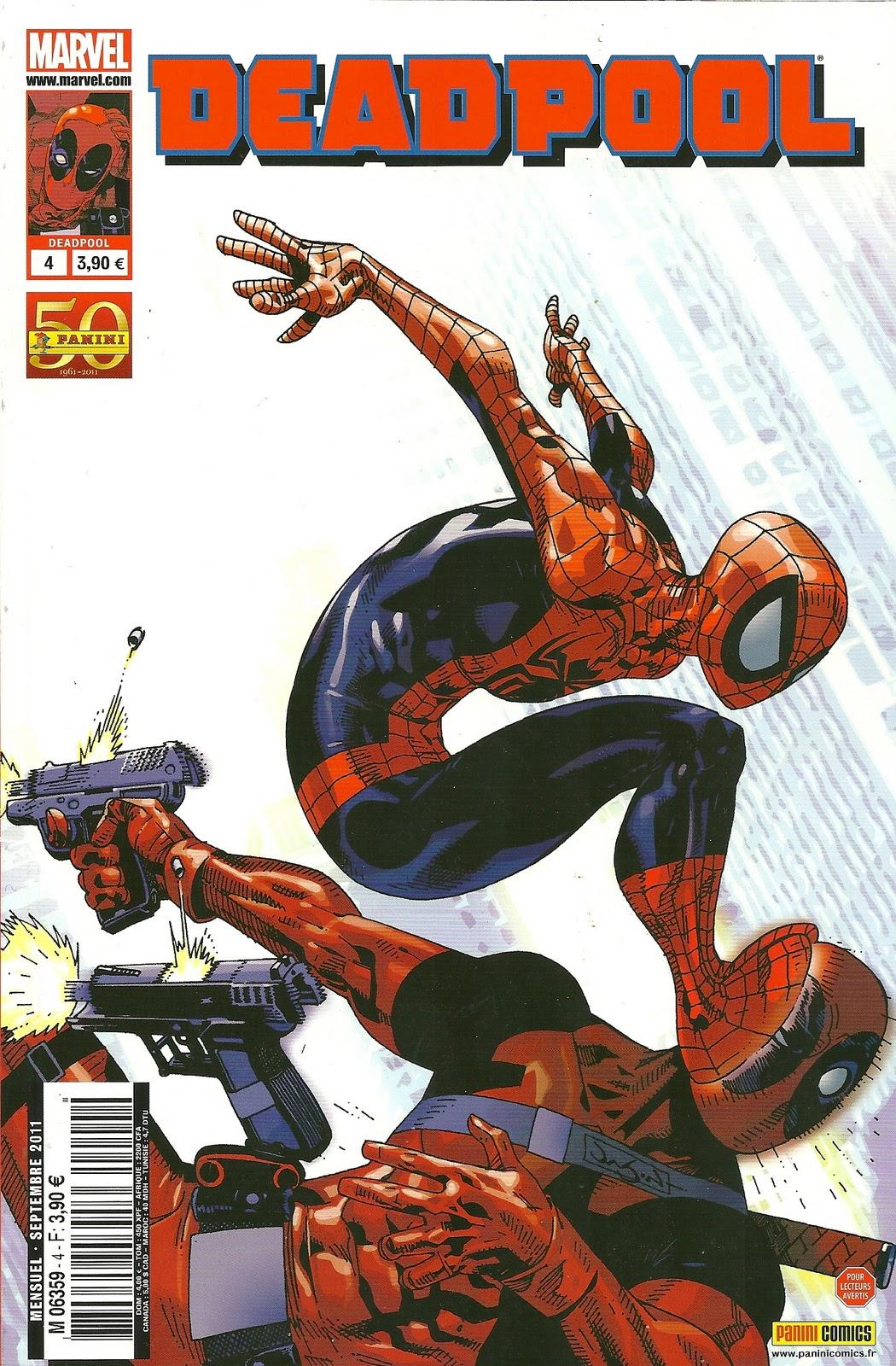 Deadpool (revue) – V 2, T4 : Un être bien singulier (0), comics chez Panini Comics de Way, Barbieri, Gracia, Pearson