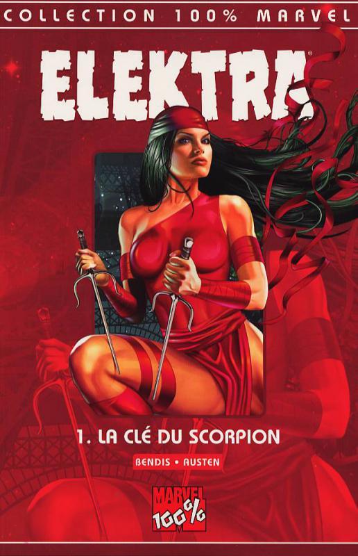Elektra   T1 : La clé du scorpion (0), comics chez Panini Comics de Bendis, Austen, Eyring, Horn