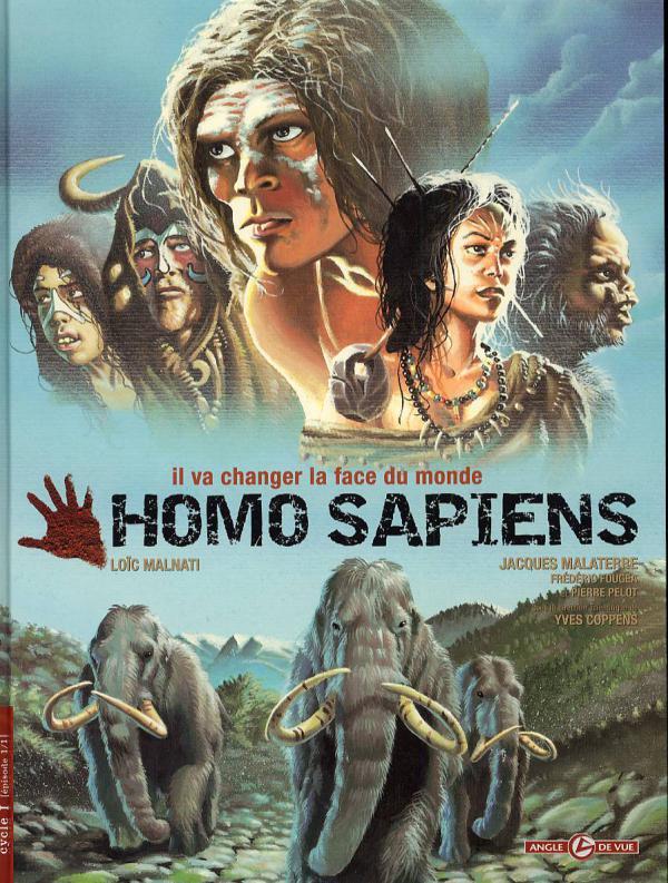 Homo sapiens, bd chez Bamboo de Malaterre, Pelot, Fougea, Malnati