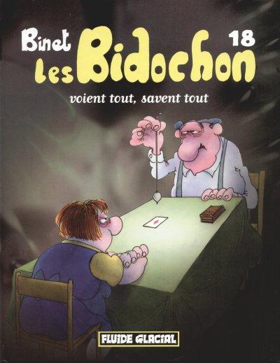Les bidochon T18 : Les Bidochon voient tout, savent tout (0), bd chez Fluide Glacial de Binet