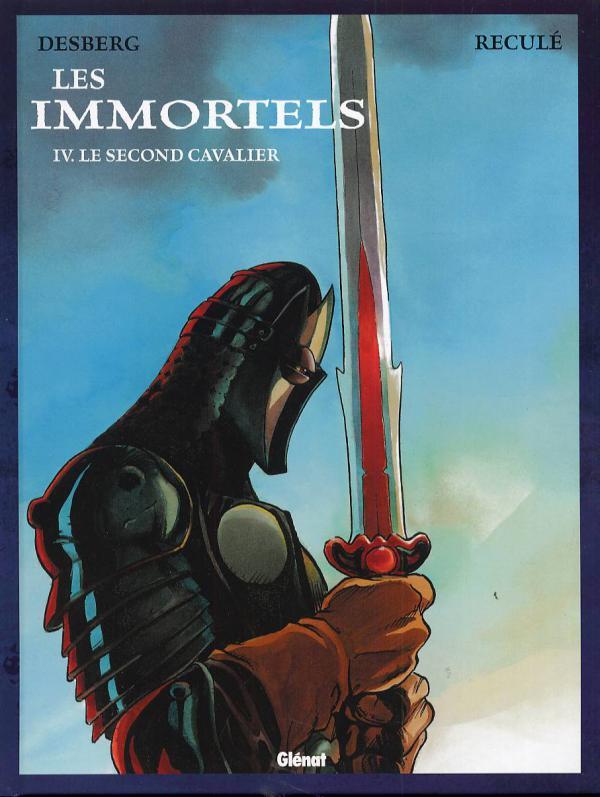 Les immortels T4 : Le second cavalier (0), bd chez Glénat de Desberg, Reculé