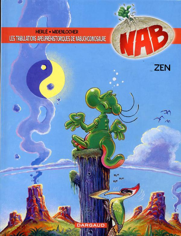 Nab T12 : Zen (0), bd chez Dargaud de Herlé, Widenlocher, Chagnaud