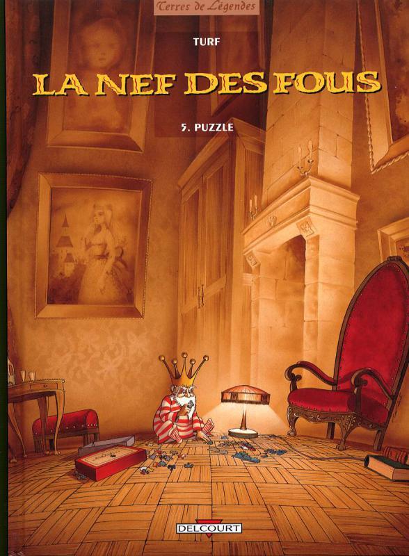La nef des fous T5 : Puzzle (0), bd chez Delcourt de Turf