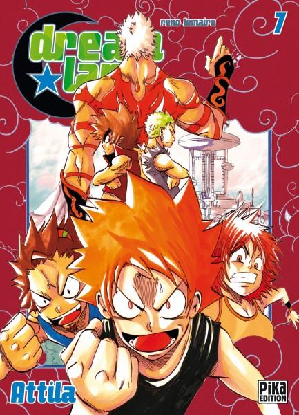 Dreamland  T7 : Attila (0), manga chez Pika de Lemaire