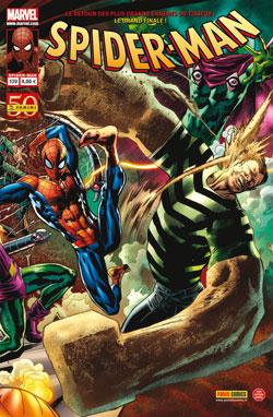 Spider-Man (revue) – V 2, T139 : Chasse à mort (0), comics chez Panini Comics de Kelly, Aaron, Busiek, Dematteis, Olliffe, Gaudiano, Kubert, Southwork, Checchetto, Lark, Rios, Fiumara, Thies, Hollingsworth, Buccellato, d' Auria, Ponsor, Hitch