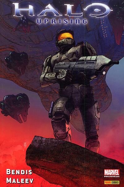 Halo T1 : Uprising (0), comics chez Panini Comics de Bendis, Maleev, Hollingsworth, Chung, Villarubia