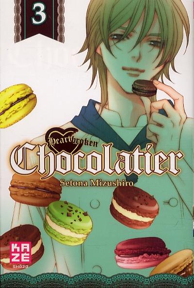 Heartbroken chocolatier T3, manga chez Kazé manga de Mizushiro