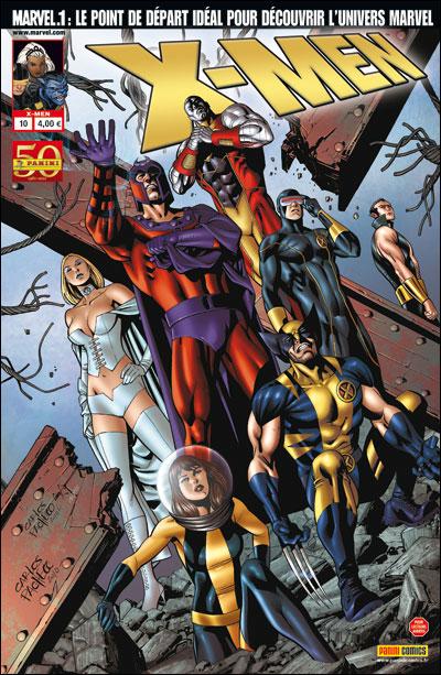 X-Men (revue) – V 2, T10 : Relations publiques (0), comics chez Panini Comics de Wells, Gillen, Carey, Currie, Dodson, Tolibao, Kirk, Pacheco, d' Armata, Guru efx, Reber, Ponsor