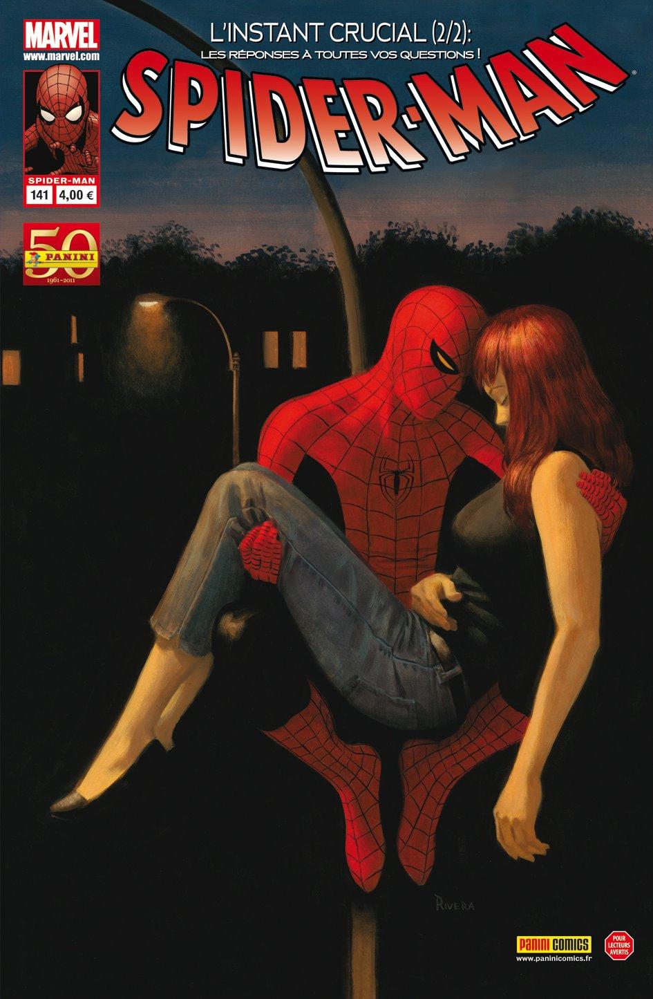 Spider-Man (revue) – V 2, T141 : L'instant crucial (2/2) (0), comics chez Panini Comics de Quesada, Van Lente, Fiumara, Rivera, Hollowell, Isanove