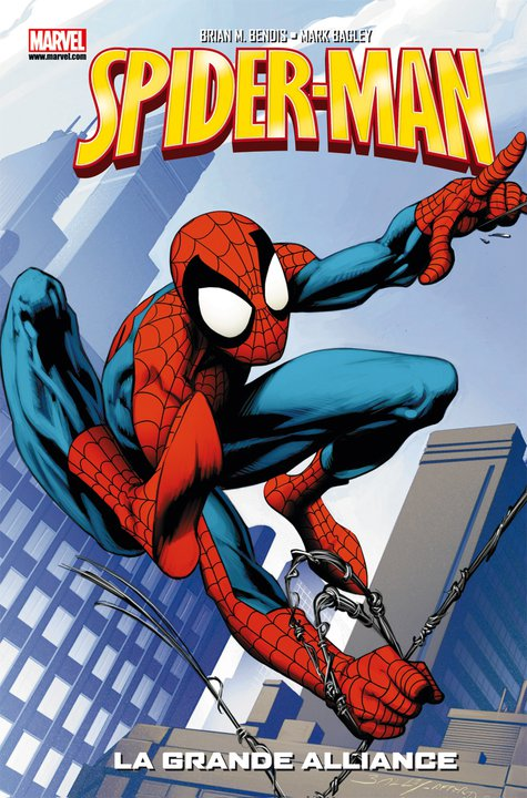 Spider-Man - Best comics T1 : La grande alliance (0), comics chez Panini Comics de Bendis, Immonen, Bagley, Ponsor