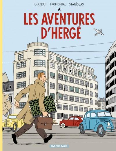 Les Aventures d'Hergé, bd chez Dargaud de Bocquet, Stanislas, Demille
