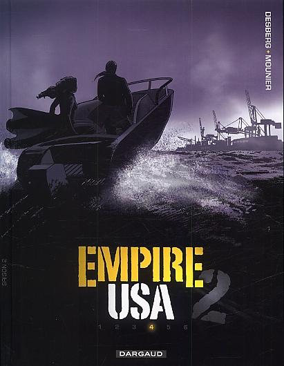 Empire USA – Saison 2, T4, bd chez Dargaud de Desberg, Mounier, Poupelin, Ravon, Reculé