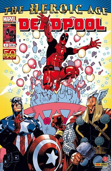 Deadpool (revue) – V 2, T6 : L'enfer du jeu (0), comics chez Panini Comics de Way, Barbieri, Gracia, Pearson
