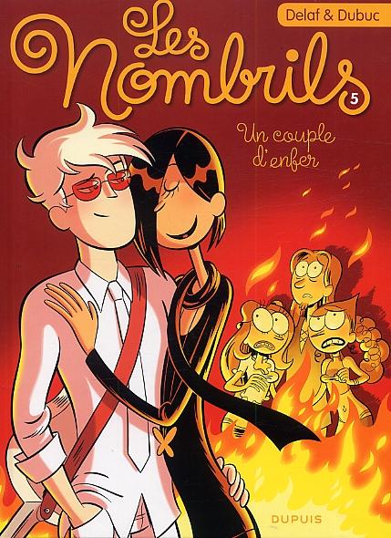 Les nombrils T5 : Un couple d'enfer (0), bd chez Dupuis de Dubuc, Delaf