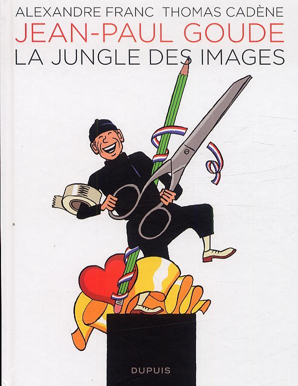 Jean-Paul Goude : La jungle des images (0), bd chez Dupuis de Cadène, Franc